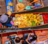 All students taking an internship in Bangkok will enjoy a trip to the floating markets