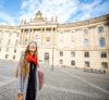 Intern during her first week in Berlin